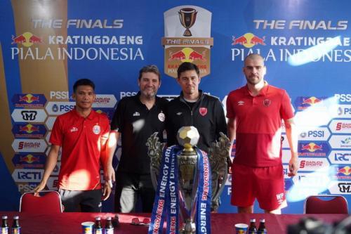 Persija Jakarta dan PSM Makassar adakan konferensi pers