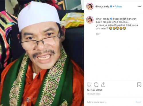 Menantu idaman versi ayah Dinar Candy. (Foto: Instagram)