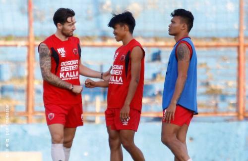 Para pemain PSM Makassar