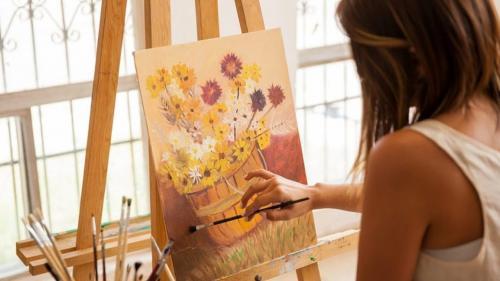 Terapi Seni atasi stres