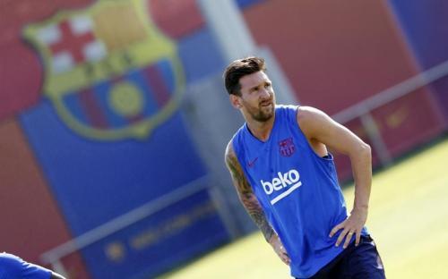 Lionel Messi menjadi kandidat terkuat per Agustus