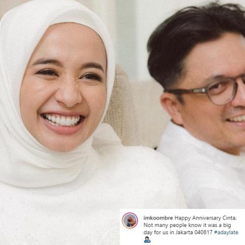Engku Emran akhirnya membuka tanggal pernikahan dia dan Laudya Cynthia Bella yang sebenarnya. (Foto: Instagram)