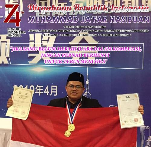 Ilmuwan Asal Indonesia Raih Medali Emas di Pameran Teknologi Internasional China