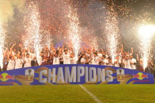 PSM Makassar sukses menjuarai Kratingdaeng Piala Indonesia 2018-2019 (Foto: Herman Amiruddin/Okezone)