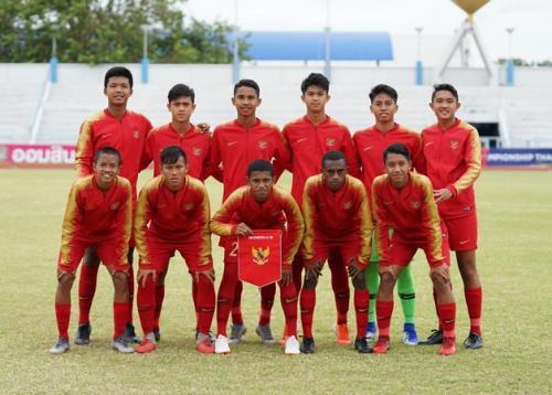 Timnas Indonesia U-15 mengikuti turnamen invitasi di Myanmar