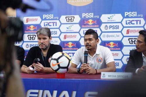 Bambang Pamunkas usai laga PSM vs Persija