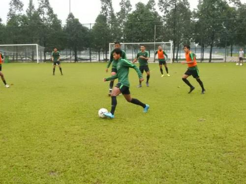Timnas Indonesia U-18 berlatih jelang laga kontra Timor Leste (Foto: PSSI)