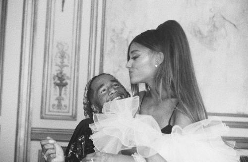 Ariana Grande dan Mikey Foster