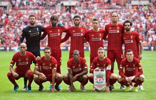 Skuad Liverpool di musim 2019-2020