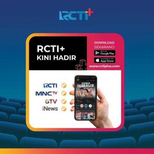 Platform layanan Over-The-Top (OTT) RCTI+ terus membuat terobosan unik untuk memanjakan para penggunanya.