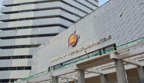 Gedung baru ASEAN. (Foto: Kementerian PUPR)