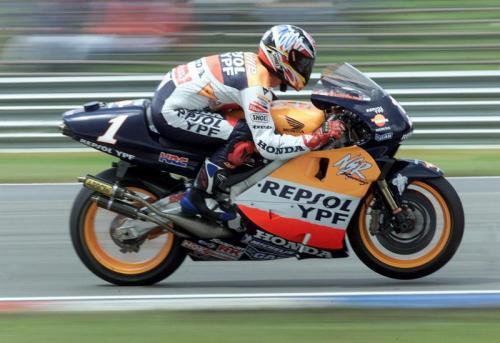 Alex Criville pernah naik podium pertama di Austria