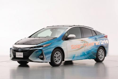 Toyota solar cell