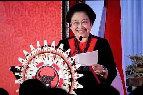 Megawati saat membuka Kongres V PDIP di Bali (Foto: Tim Media PDIP)