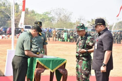 TNI Resmi Menutup Kegiatan TMMD 2019 (foto: Ist)