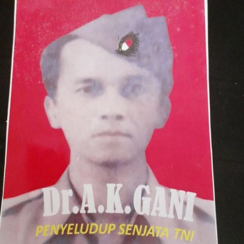 Tokoh Kemerdekaan AK Gani (foto: Ist)