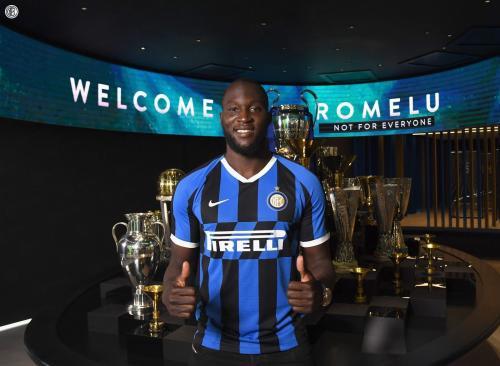 Romelu Lukaku telah resmi jadi pemain Inter