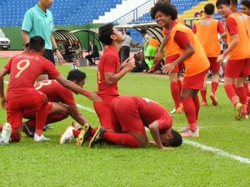 Para pemain Timnas Indonesia U-19