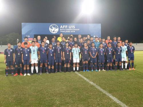 Timnas Thailand U-15 runner-up Piala AFF U-15 2019