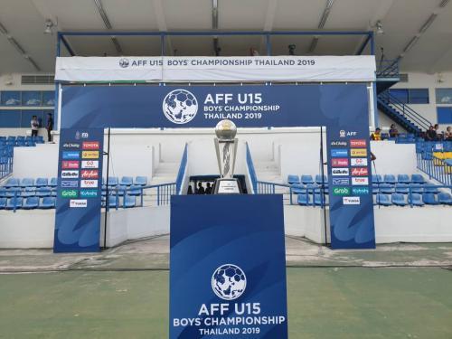 Tropi Piala AFF U-15 2019