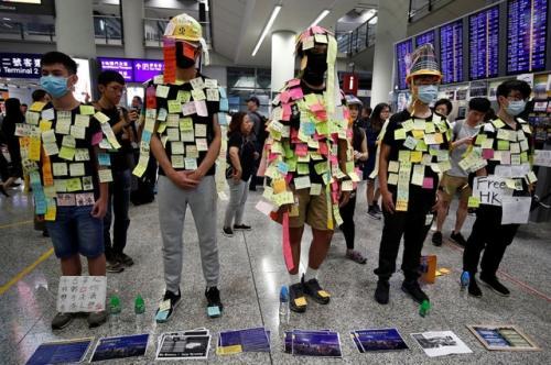 Unjuk rasa di Hong Kong. (Foto: Reuters)