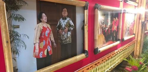 Foto Mega dan Prabowo (Foto : Koran Sindo/Abdul Rochim)