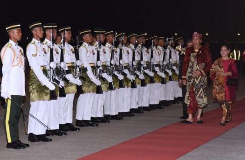 Presiden Jokowi dan Ibu Negara