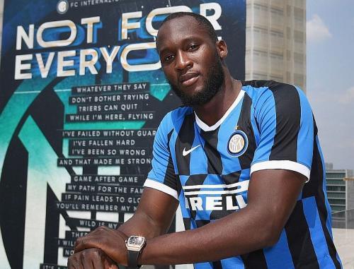 Romelu Lukaku resmi berlabuh ke Inter Milan