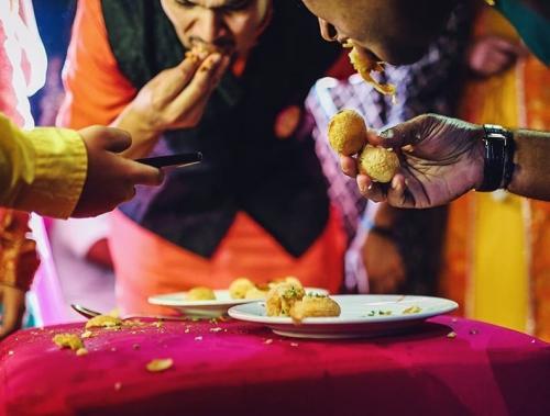 Makanan di Sangeet Night