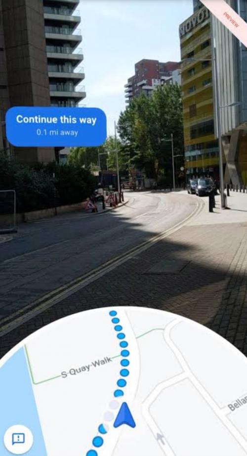 Fitur Google Maps Live View Hadir untuk Beberapa Pengguna Android dan iPhone