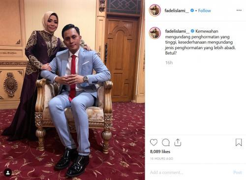 Fadel Islami dan Muzdalifah