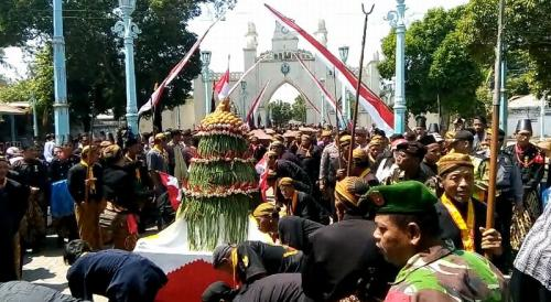 Keraton Surakarta Gelar Tradisi Grebek Besar Idul Adha (foto: Bramantyo/Okezone)