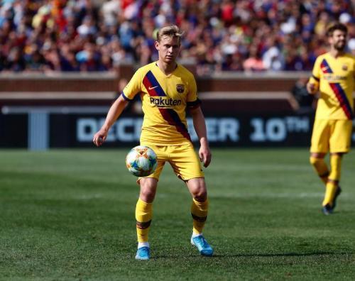 Frenkie de Jong (Foto: Twitter/@FCBarcelona)