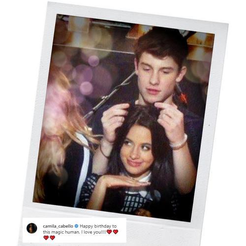 Camila Cabello menyatakan perasaan cintanya untuk Shawn Mendes. (Foto: Instagram)