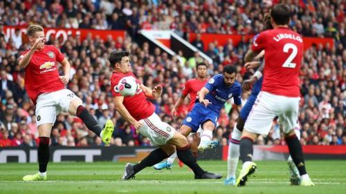 Harry Maguire tampil impresif pada debutnya bersama Man United (Foto: Premier League)