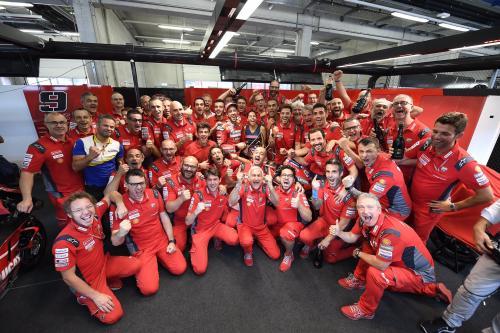 Ducati terakhir merasakan kemenangan di MotoGP Austria 2019 (Foto: Twitter/Ducati Motor)