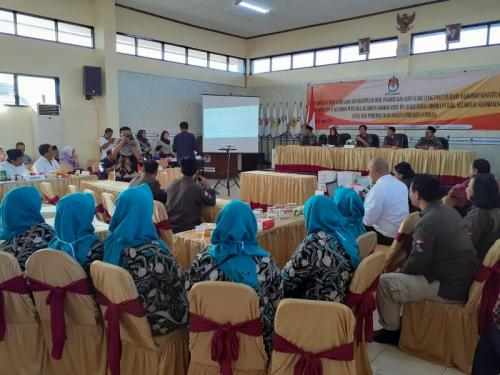 Proses Pemungutan Suara Ulang di 3 TPS Surabaya, Jawa Timur (foto: Syaiful Islam/Okezone)