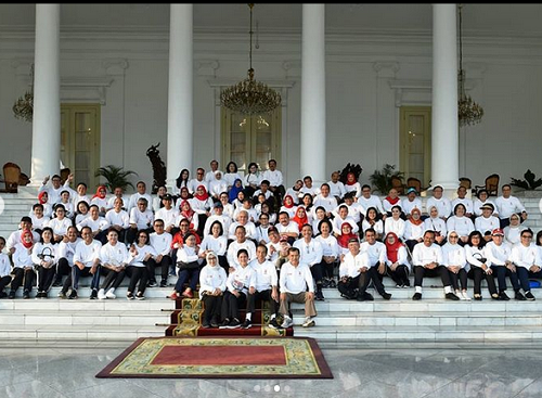 Jokowi dan Menteri Kabinet Kerja I