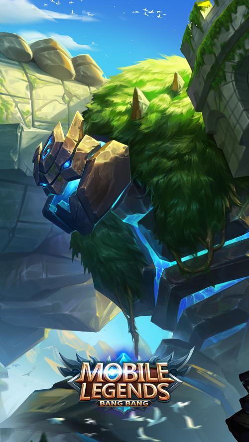 Game Mobile Legends menantang gamer untuk bermain dalam permainan lima lawan lima.