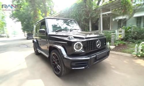 Penampakan mobil mewah baru Raffi Ahmad. (Foto: YouTube/RANS Entertainment)