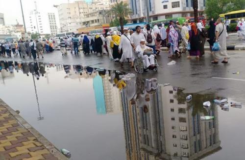 Makkah Diguyur Hujan