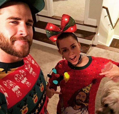 Liam Hemsworth dan Miley Cyrus