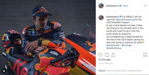Johann Zarco (Foto: Instagram/@johannzarco)