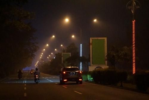 Kabut asap di Kalimantan