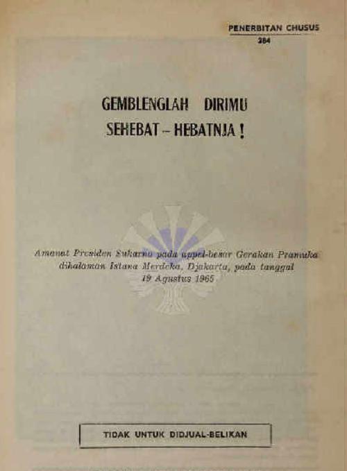 Pidato Soekarno soal Pramuka