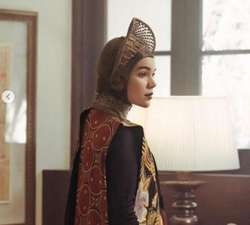 Dewi Sandra bagai Dewi Athena