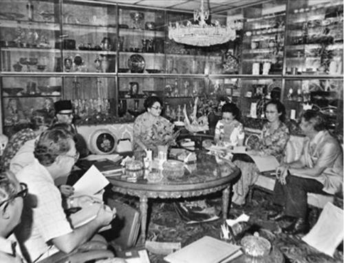 Rapat Pramuka Dipimpin Ibu Tien Suharto