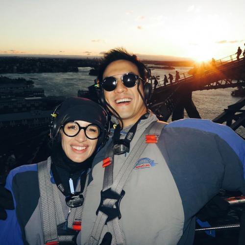 Daniel Mananta dan Istri