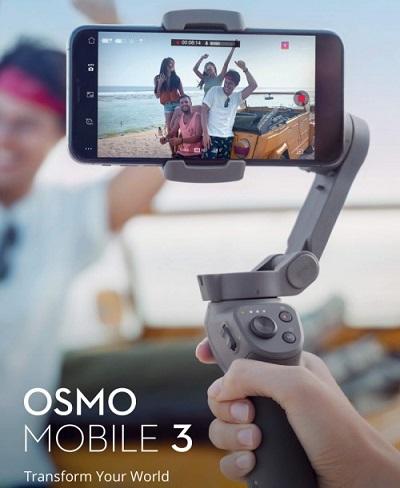 DJI Luncurkan Gimbal untuk Smartphone Osmo 3
