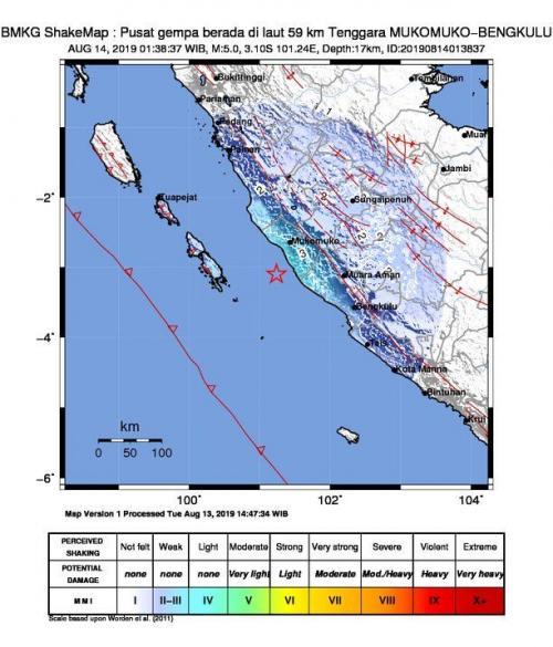 Gempa Bengkulu